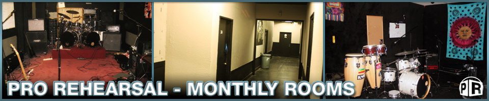 Monthly Studio Rentals and Rehearsal Rooms by Pro Rehearsal Dallas Deep Ellum, Texas